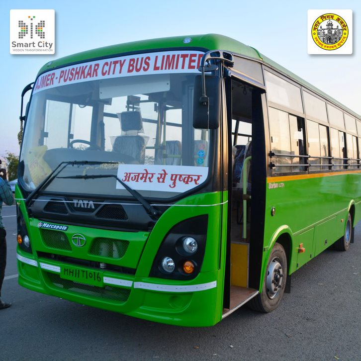 Enhancing citizens' experience of public transport in Ajmer through digitization